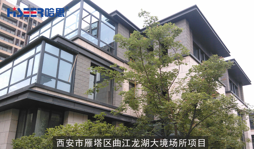陕西省西安市雁塔区曲江龙湖大境场所项目